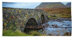 Sligachan Bridge View #h4 Hand Towel