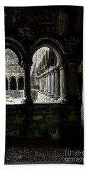 Hand Towel featuring the photograph Sligo Abbey Interior by RicardMN Photography