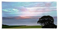 Sligo Sunset Hand Towel by Stephanie Moore