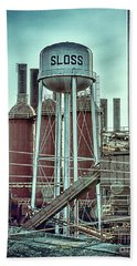 Sloss Furnaces Tower 3 Bath Towel