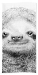 Sloth Bath Towel