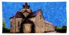 Hand Towel featuring the photograph Small Church 1 by Jean Bernard Roussilhe