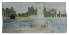 Small Lighthouse One Belmore Basin Bath Towel