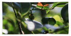 Small Nature's Beauty Bath Towel by Christopher L Thomley