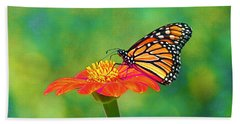 Bath Towel featuring the photograph Small Wonders by Byron Varvarigos