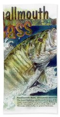 Smallmouth Bass Hand Towel