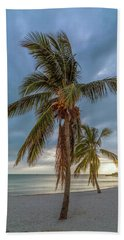 Smathers Beach Coconut Sunset Hand Towel