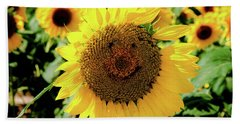 Smile Bath Towel by Greg Fortier