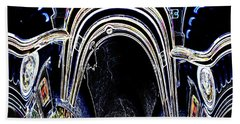 Bath Towel featuring the photograph Smith Countyjeep Art Abstract by Lesa Fine