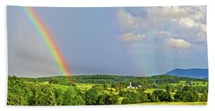 Smith Mountain Lake Rainbow Hand Towel