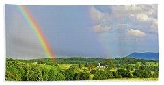 Smith Mountain Lake Rainbow Hand Towel