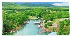 Smith Mountain Lake, Virginia. Bath Towel