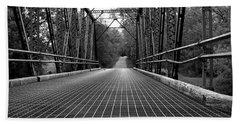 Bath Towel featuring the photograph Smith Road Bridge  by Viviana  Nadowski