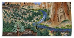 Smith Rock State Park Bath Towel