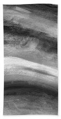 Smoke- Abstract Art By Linda Woods Hand Towel