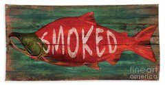 Smoked Fish Bath Towel