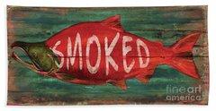 Smoked Fish Bath Towel