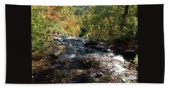 Smokies 5 Hand Towel by Val Oconnor