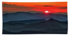 Smokies Sunset Bath Towel