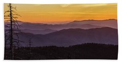 Smoky Mountain Morning Hand Towel