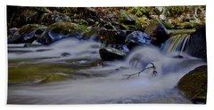 Bath Towel featuring the photograph Smoky Mountain Stream by Douglas Stucky
