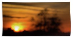Smoky Sunset Bath Towel
