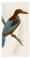 Smyrna Kingfisher Hand Towel by English School
