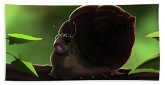 Snail Hand Towel
