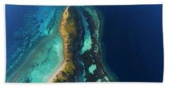 Hand Towel featuring the photograph Snake Beach Of Flores Island by Pradeep Raja PRINTS