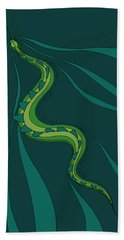 snakEVOLUTION I Bath Towel