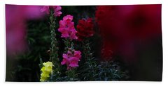Snapdragon Hand Towel by Greg Patzer