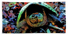 Snapping Turtle 10 Hand Towel