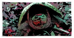 Snapping Turtle 6 Hand Towel