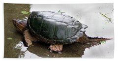 Snapping Turtle Bath Towel
