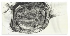 Snapping Turtle Hand Towel