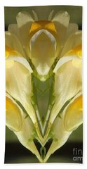 Snappy Bouquet Hand Towel by Christina Verdgeline