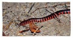 Hand Towel featuring the photograph Snazzy Snake by Al Powell Photography USA