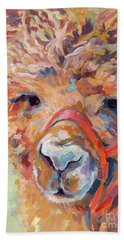 Snickers Hand Towel by Kimberly Santini