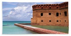 Snorkelers Fort Jefferson Hand Towel