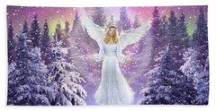 Snow Angel Hand Towel