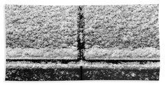Bath Towel featuring the photograph Snow Covered Rear by Robert Knight