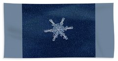 Snow Flake  Hand Towel