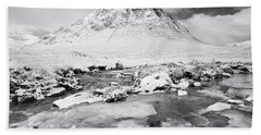 Snow In Glencoe Hand Towel