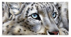 Snow-leopard's Dream Bath Towel