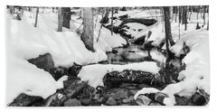 Snow Melt II Bath Towel