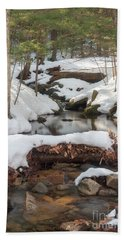 Snow Melt Bath Towel