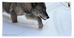Snow Walker Hand Towel