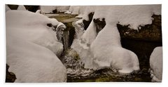 Snowcone Stream Hand Towel