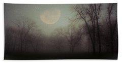 Moonlit Dreams Bath Towel by Inspired Arts