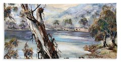 Snowy River Bath Towel